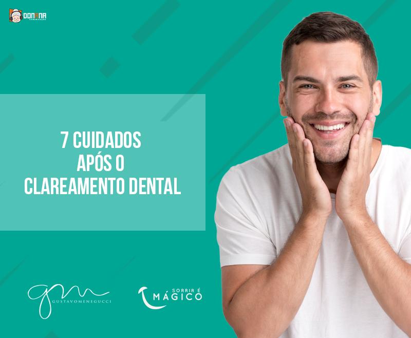 Clareamento dental: 7 cuidados após